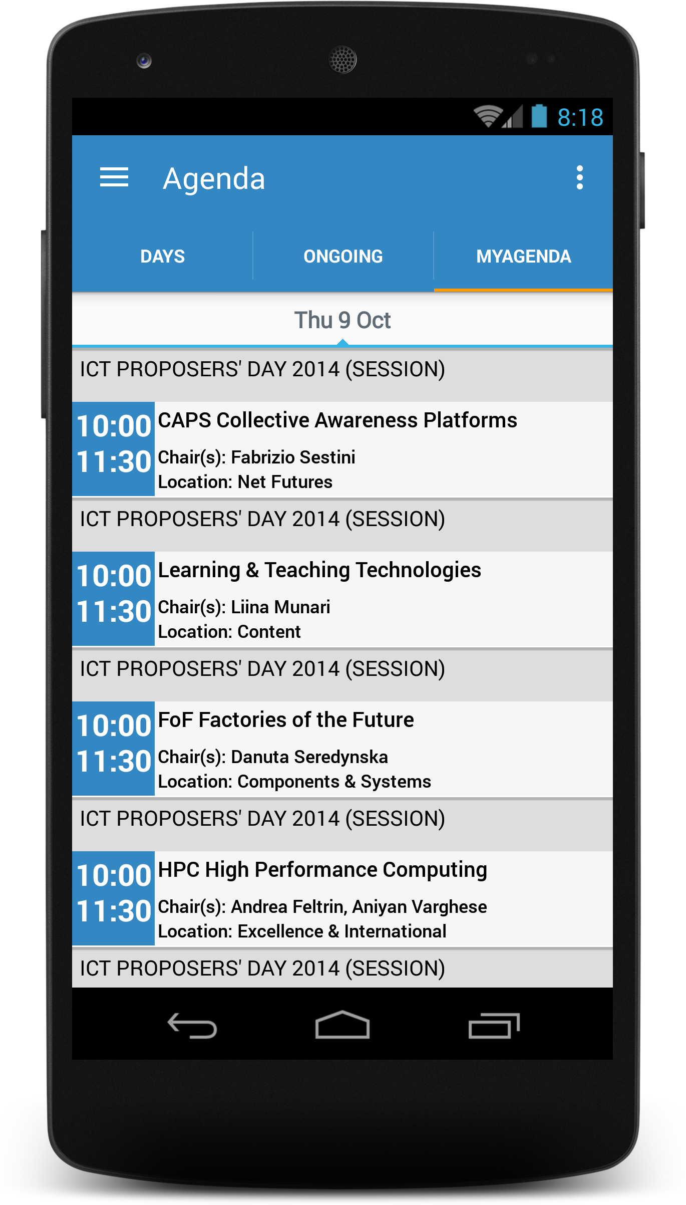 Conference4me | Mobile Conference Assistant | Conference4me is an